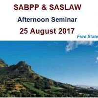 SABPP and Saslaw Afternoon Seminar