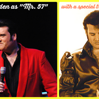 Peter Alden as &quotMr. 57&quot with a tribute to Elvis