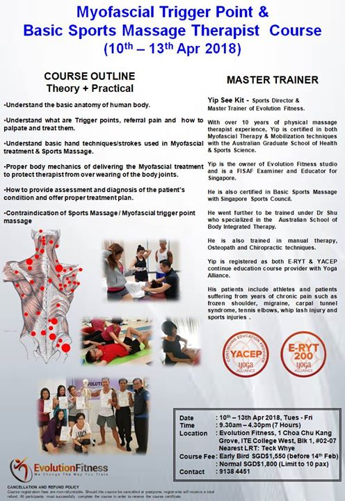 2018 Myofascial Trigger Point Therapist Course Module 1-4