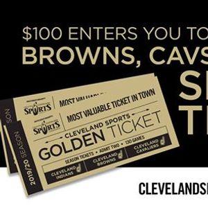 2019 Cleveland Sports Golden Ticket