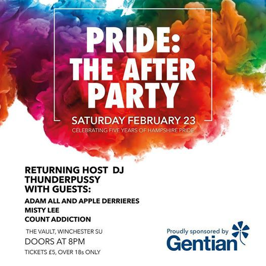 Hampshire Pride 2019 Official After-Party