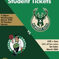 CAB Presents Boston Celtics vs. Milwaukee Bucks