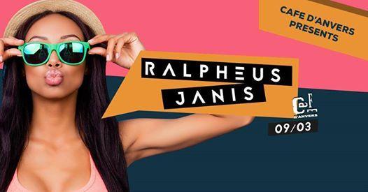Caf dAnvers presents Ralpheus & Janis