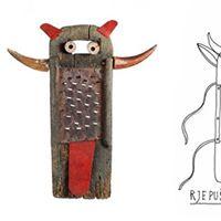 Delavnica in vodstvo izdelava jesenske maske Rjepu