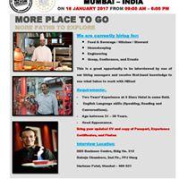 Recruitment Open Day - Mumbai India