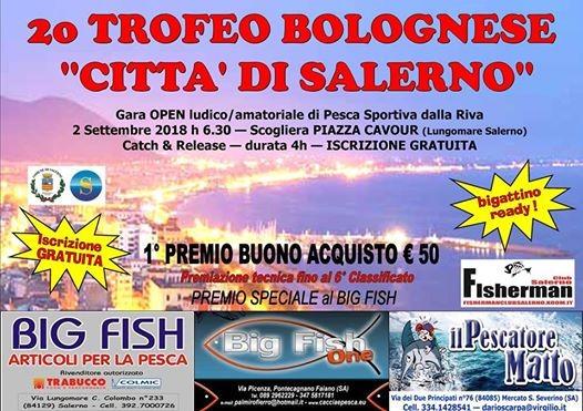 2 Trofeo di pesca con la Bolognese Citta di Salerno