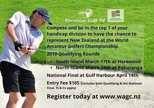 South Island Qualifying Round WAGC New Zealand