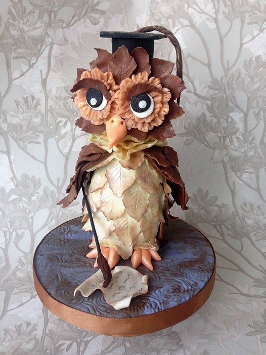 Olly the Owl - Modelling with chocolate class