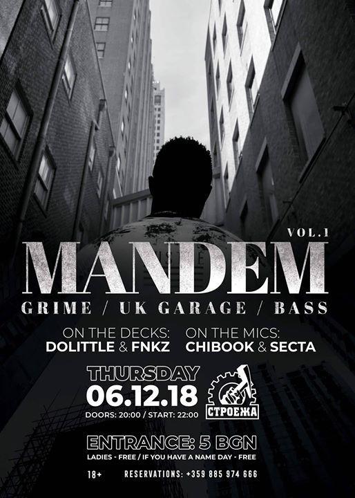 Mandem vol1 Chibook & Secta & Fnkz & DoLittle - Live at Stroeja
