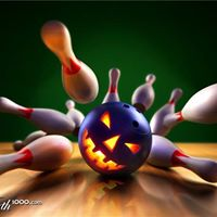 Halloween Bowling Party