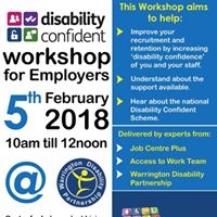 Disability Confident workshop for Employers