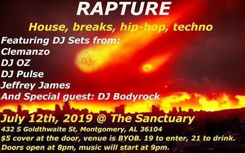 Rapture at The Sanctuary, Montgomery