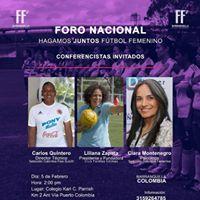 Foro Nacional Hagamos Juntos Ftbol Femenino