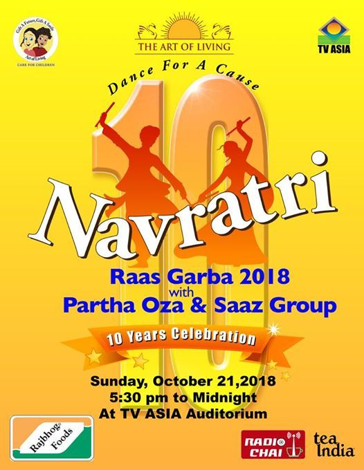 Care For Children Navratri Raas Garba 2018 With Parth Oza at