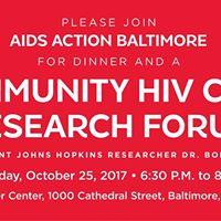 Community HIV Cure Research Forum