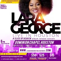 Lara George LIVE IN Houston concert