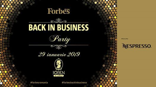Forbes Back in Business Party 2019