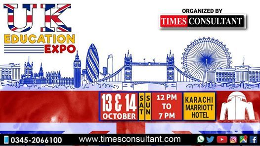 UK Education Expo in Karachi (12pm to 7pm)
