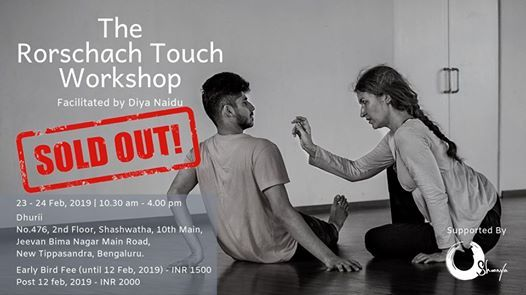 The Rorschach Touch Workshop