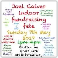 Joel Calver indoor fundraising fete