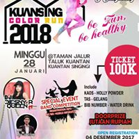 KUANSING Color Run 2018 &amp Band Competition