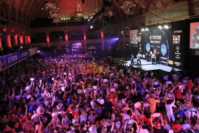 Matchplay World Darts 2016 In Blackpool At Winter Gardens