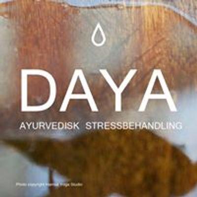 DAYA Ayurvedisk Stressbehandling