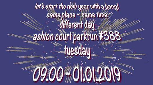 New Years Day parkrun