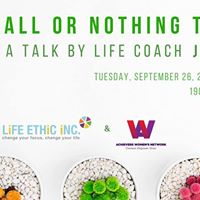 All or Nothing Thinking  A Talk By Life Coach Jen Morton