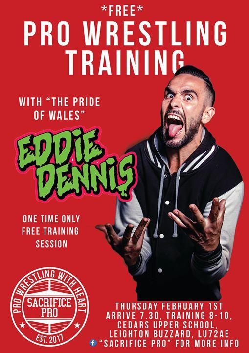 Sacrifice Pro Presents: Free Training Session with Eddie