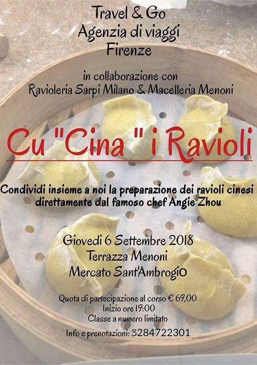 Cu Cina I Ravioli At Risto Macelleria Terrazza Menoni Florence