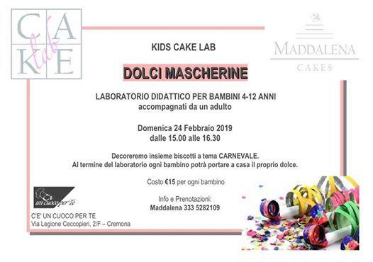Dolci Mascherine - Kids Cake Lab