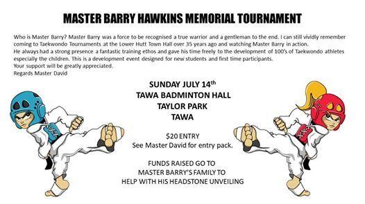 Master Barry Memorial Development Tournament