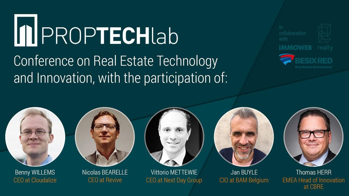 PropTech Afterworks with CBRE BAM Revive Localyze Next Day Capital & more