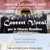 Concert de musique sacre a cappella