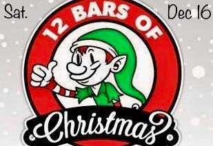 12 bars of christmas pub crawl