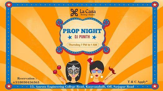 Thursday prop nights