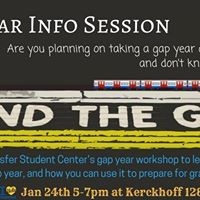 Gap Year Info Session