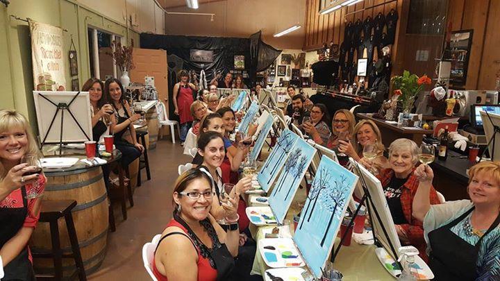 sip n paint at falkner winery temecula