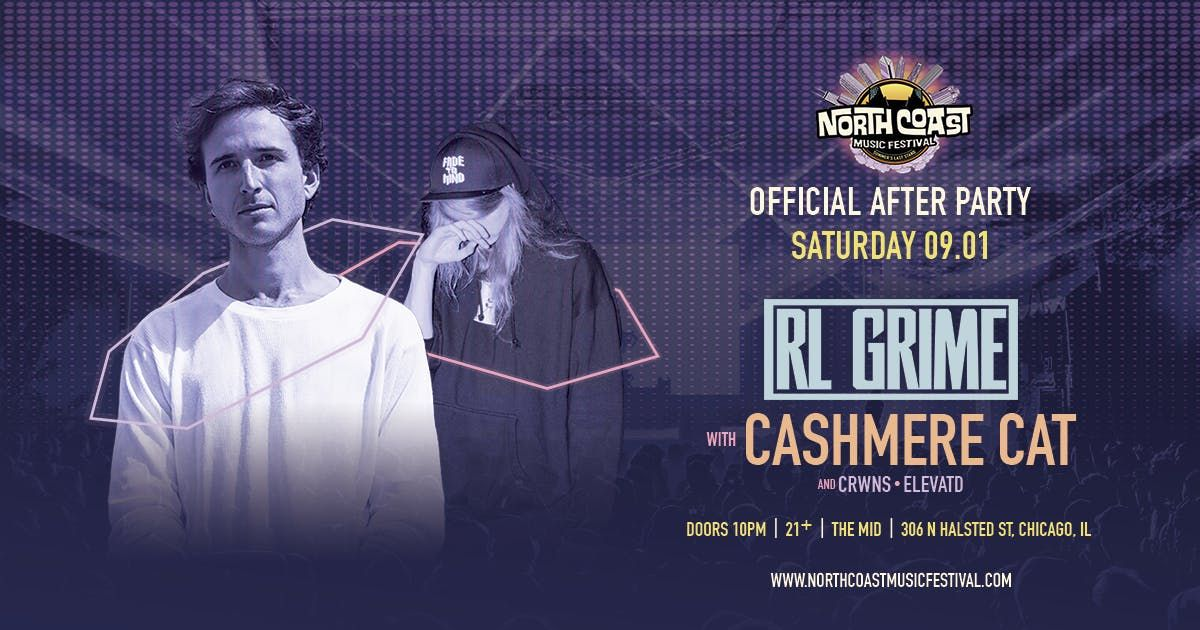 NCMF Official After Party RL Grime & Cashmere Cat at the MID