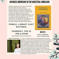 Book Talk for Redefining Japaneseness by Jane Yamashiro