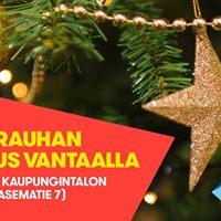 Joulurauhan julistus Vantaalla