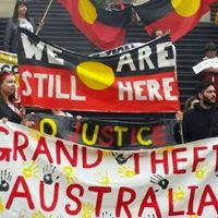Wollongong contingent to the Invasion Day rally in Sydney