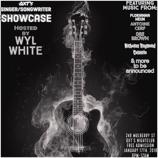 QXTs SingerSongwriter Showcase feat. Wyl White