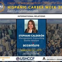 Stephani Caldern Senior Analyst Accenture-Hispanic Career Week