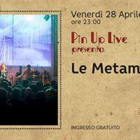 Pin Up Live - Le Metamorfosi