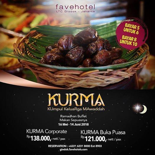 Ramadhan Buffet All You Can Eat at favehotel LTC Glodok