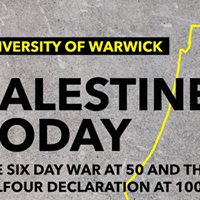 Palestine Today The Six Day War at 50 and Balfour at 100