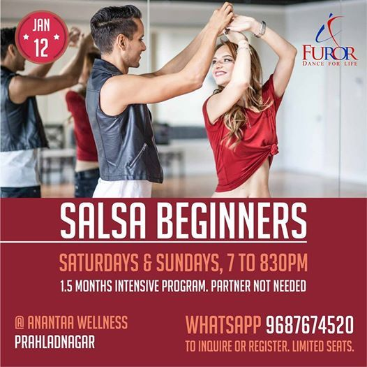 Salsa Beginners (Weekend Dance Classes)