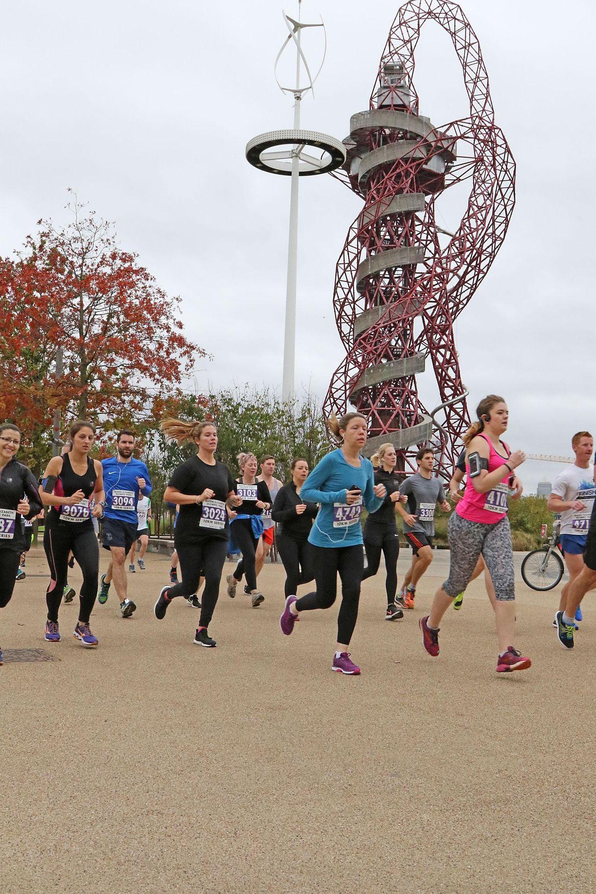 Queen Elizabeth Olympic Park Summer 10K Series - April